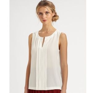 Kate Spade Addie 100% Silk Sleeveless Blouse Top
